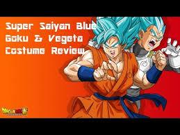 Saiyan Halloween Costume Spirit Halloween Super Saiyan Blue Goku U0026 Vegeta Costume Review