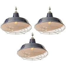 x pendant light cage shades interesting usa blue industrial enamel