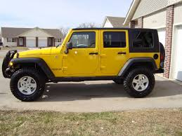 jeep lifted 2 door 2 or 2 5 inch lift with stock tires