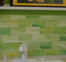 green tile kitchen backsplash 2017 coolest lime green glass tile