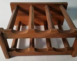 Walnut Wine Cabinet Wine Rack Etsy
