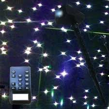 Laser Light Decoration Ledmall Full Spectrum Motion Star Effect 7 Color White Laser
