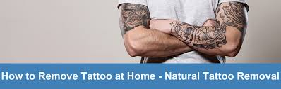 to remove tattoo at home