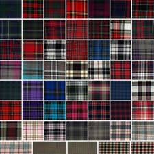 plaid vs tartan tartan fabric ebay