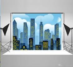 cityscape backdrop 2017 7x5ft220x150cm city photography backdrops for children