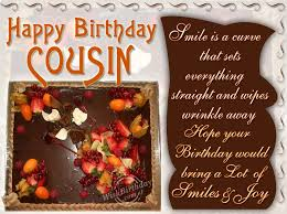 cousin birthday ecard u2013 quotesta