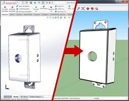 Sketchup by How To Export A Model From Solidworks To Google Sketchup