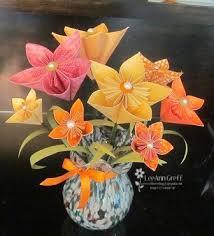 Origami 3d Flower Vase Frenchie U0027s Flowers Flowerbug U0027s Inkspot