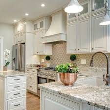 neutral kitchen ideas that arabesque backsplash is gorgeous kitchens dining rooms