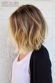 medium length hair with ombre highlights medium length hair brown to blonde ombre