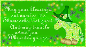 may your blessings outnumber that shamrocks that grow pictures