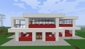 small simple modern house minecraft project