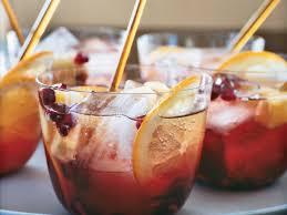 sparkling pomegranate punch recipe shawn mcclain food u0026 wine