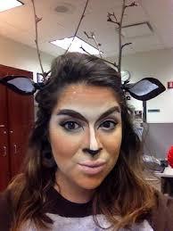 deer costume how to create a doe deer makeup look and costume snapguide