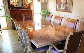 Granite Top Dining Table Set - granite table and chairs kitchen table dining entrancing granite