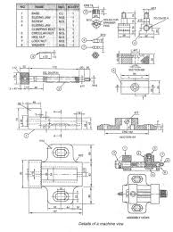 swivel machine vice assembly drawing dirty weekend hd