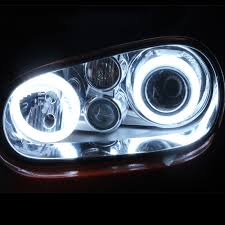 led halo headlight accent lights 12v halo rings round led car demon headlight moto angel eyes accent