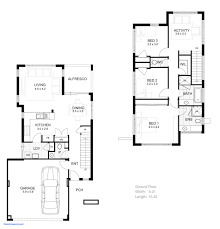 house plans narrow lot house plans small lot luxury 3 bedroom 2 storey house plans