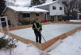 Backyard Ice Skating by Diy Backyard Ice Rink Hockey Dad Keith Travers