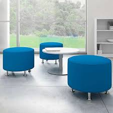 alight round ottoman by turnstone from steelcase yliving