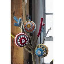 crochet christmas bauble crochet pattern by jane crowfoot