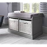 amazon co uk storage benches home u0026 kitchen