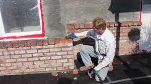 How To Cover Old Concrete by How To Stucco Or Render Over Brick Walls Youtube