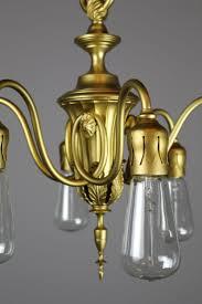 adam u0027s style bare bulb six light fixture by r williamson u0026 co