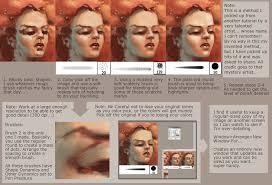 tutorial smooth skin by snaketoast on deviantart