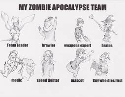 Zombie Apocalypse Meme - zombie apocalypse meme by britheshmo on deviantart