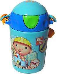 bob builder pop water bottle kids