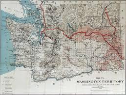Maps Of Washington State by Big Bend Railroad History 1888 Seattle Lake Shore U0026 Eastern