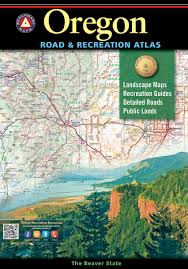 Highway Map Of Oregon by Oregon Road U0026 Recreation Atlas U2014 Benchmark Maps