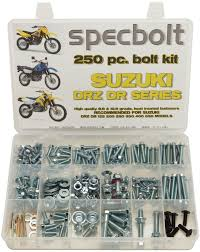 250pc bolt kit suzuki dr z400 drz400 drz 200 250 350 400 650 dr 70