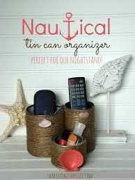 nautical tin can organizer inspired by all you magazine