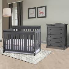 Sorelle Tuscany 4 In 1 Convertible Crib And Changer Combo by Storkcraft Tuscany 2 Piece Nursery Set Convertible Crib And