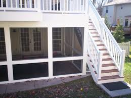 under deck screen rooms st louis decks screened porches