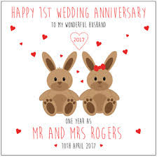 wedding anniversary card ebay