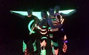 glow show uv glow show melbourne poi and glow light show corporate events