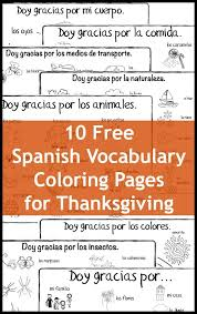 thanksgiving vocabulary coloring pages playground