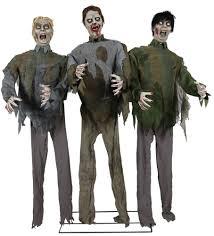 animated halloween decoration life sized zombie horde animated prop 352918 trendyhalloween com