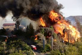 California Wildfires San Diego by San Diego County Brush Fires La Times