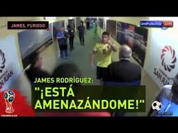 imagenes chistosas hoy juega colombia james rodriguez furioso durante el partido entre argentina y