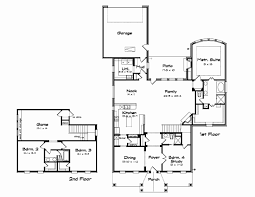 open house plans with large kitchens new two story house plans with large kitchens house plan