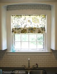 Mock Roman Shade Valance - pin 23 diy faux roman shades pinterest in real life