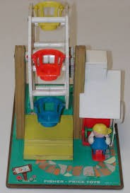 Fisher Price Toy Box Vintage 1964 Ferris Wheels Music Box Fisher Price Toys Made In Usa
