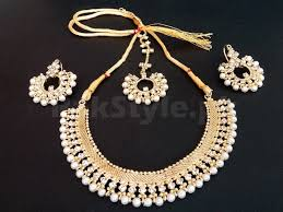 pearl rings prices images White pearl jewellery set for girls price in pakistan m007993 jpg