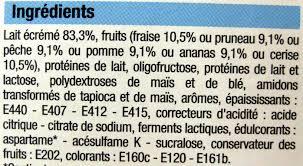 8 Pots by Yaourts Aux Fruits 0 Mg 8 Pots Bien Vu 1 Kg 8 X 125 G