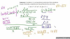 polynomial long division worksheet koogra