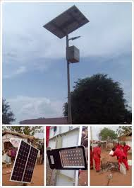 Solar Panel For Street Light by Haotech Solar Led Street Light Project Archives Haotech Group